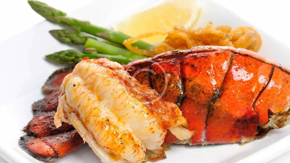 Broiled Lobster Tails